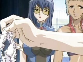 a hawt ebon anime hotty getting nailed