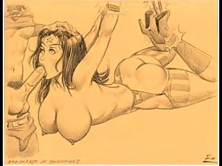 giant breast chicks engulfing comics