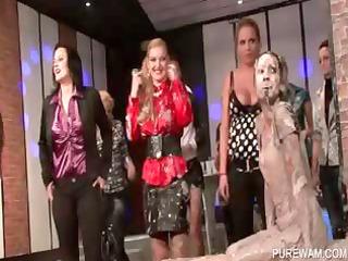 wam scene with lesbian mud wrestlers