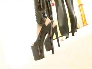 rachel starr screwed in latex boots