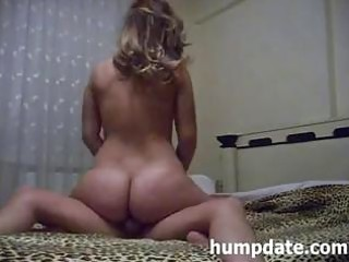 wife with hawt wazoo rides knob and receives