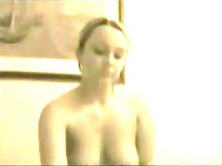 large boob tit fuck & cum