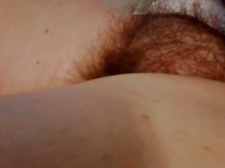 running my fingers throughout her soft hirsute