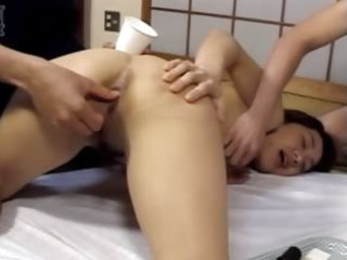 extraordinary chinese unfathomable anal group sex