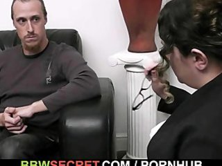 she is caught her guy with a obese slut