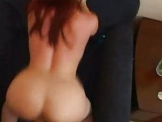 redhead mama enjoys doggystyle!