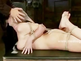 wench receives bizarre deepthroat getting drilled